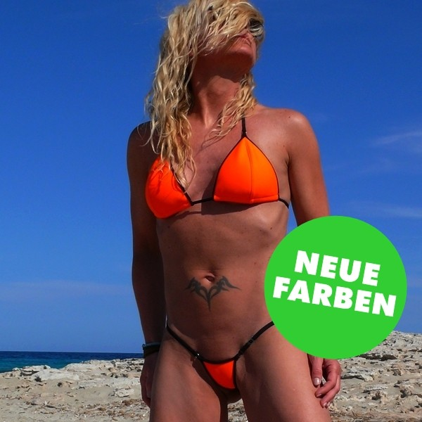 neopren mini-micro Bikini Set